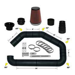 AIR-101-400 Universal Air Intake Kit