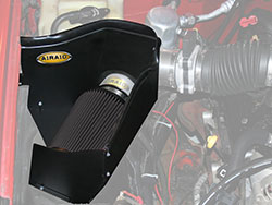 An AIRAID 202-240 Air Box Intake creates a cold air chamber for all 96-00 GM fullsize trucks & S