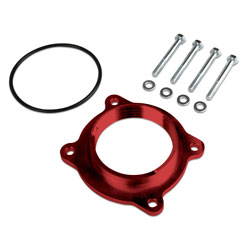 The AIRAID 250-609 POWERAID Throttle Body Spacer comes with all the mounting hardware you'll nee