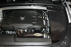 An AIRAID Cadillac CTS Cold Air Intake boosts horsepower & torque on '08-'11 Cadillac 3.