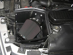 The Air Box System replaces the restrictive factory air intake system, increasing horsepower