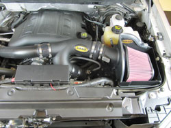 401-101 Air Intake for Ford F-150 3.5L Installed