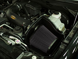 The Cold Air Dam blocks engine heat from entering the intake track, reducing available power