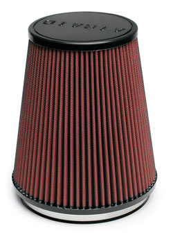 The AIRAID 701-461 universal air filter in the AIRAID 251-332 air intake kit.