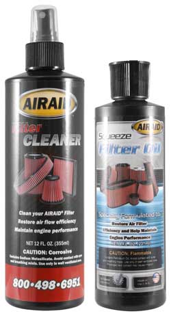AIRAID 790-550 air filter cleaning kit