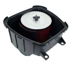 AIRAID filter for the 2014-2016 Arctic Cat Wildcat Trail 700 drops right into the factory airbox