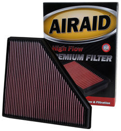 2013-2016 Cadillac CTS & 2013-2016 Cadillac ATS Replacement Air Filter - AIRAID 850-496