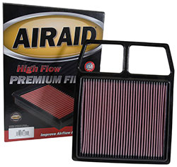 A single AIRAID Direct-Fit Filter can replace a pile of discarded filters headed for the landfill