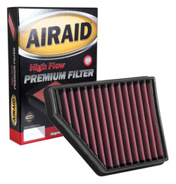 AIRAID 851-427 Drop-in Air Filter fits the 2010-2015 Camaro V6, Camaro SS 6.2L & Camaro ZL1 6.2L