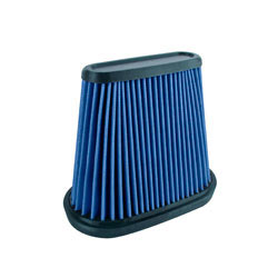 863-162 Drop-in replacement air filter for 2014-2015 Chevrolet Corvette Stingray 6.2L in blue