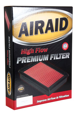 The 851-500 replacement air filter from AIRAID is ready to install right out of the box