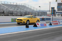 2015 EcoBoost-powered Mustang drag racer