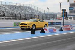 2015 EcoBoost-powered Mustang drag racer