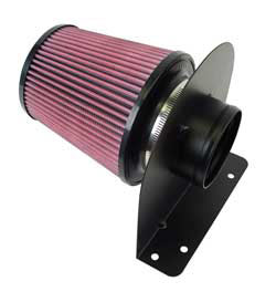AIRAID 100-211 universal performance air filter with mounting bracket