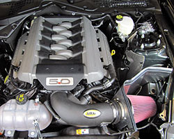 2015 Ford Mustang Cold Air Dam Intake