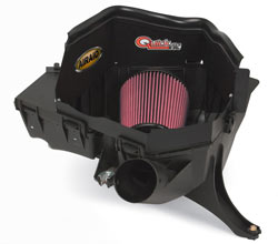 AIRAID 200-142, 201-142, 202-142, and 203-142 Quick Fit air intake systems for Chevrolet Colorado and GMC Canyon