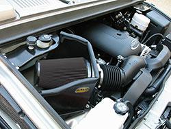AIRAID air intake installed in a Hummer H2