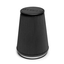 The intake includes an AIRAID 702-469 universal air filter that features multi-layer construction that captures and holds the particles to keep them from entering and possibly damaging the engine.