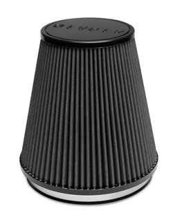 The AIRAID 252-255C is a cold air dam air intake system that includes panels that isolate the air filter from the hot air in the engine compartment and gives a steady, free-flowing supply of cooler outside air into the engine.
