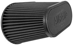 The AIRAID 302-128 air intake kit includes the AIRAID 722-128 universal air filter that is washable and reusable.