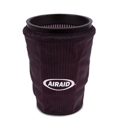 Filter wrap for AIRAID 202-129 cold air dam performance intake for the 6.6L Duramax engine
