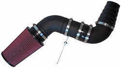 AIRAID UBI master custom intake kit with air filter, clamp, coupler, and intake tube