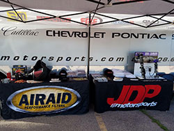 Immediately following the NMCA Autocross, Priestley attended the Sturgis Camaro Rally with his JPD Motorsports and AIRAID booth, featuring product displays, literature and free stickers.