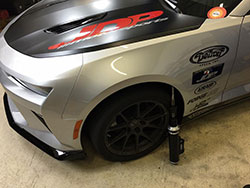 Just before heading to Pikes Peak International Raceway, Evilynn was fitted with a new set of Detroit Speed/ JRI Shocks coilovers along with a Centerforce DYAD Clutch.