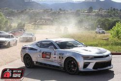 Priestley and the '16 Camaro finished strong on day one of Optima's Search for the Ultimate Street Car Pikes Peak International Raceway.