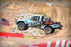 Brock Heger in the air in Reno, Nevada
