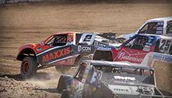 Jeremy McGrath out front in Reno, Nevada