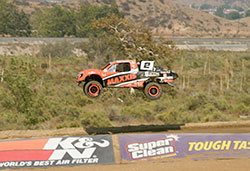 Jeremy McGrath clearing the tabletop