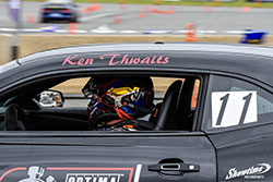 Thwaits will continue to defend his title as GT Class Champion at NCM Motorsports Park