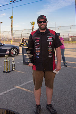 Priestly first place in Modern Muscle Class at NMCA West Autocross