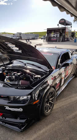 AIRAID air intake equipped Camaro, driven by Ken Thwaits