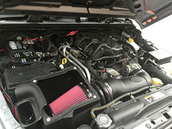 AIRAID Jeep Air Intake 311-132 Installed