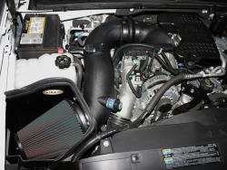The Cold Air Dam addresses the shortcomings of the restrictive factory airbox design