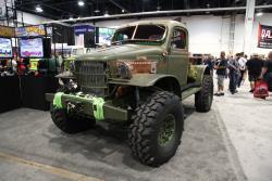 1941 Dodge Power Wagon with AIRAID filter at 2016 SEMA show