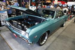 Super Chevy Week to Wicked Chevelle with AIRAID U-Build-It kit at 2016 SEMA show