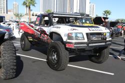 Matt Lovell race truck at 2016 SEMA show