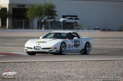 Shot of Chris Jacobs on the road course at LVMS during OUSCI