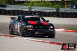 Shot of Ken Thwaits and his 2014 Camaro Z28 on the road course at New Jersey Motorsports Park