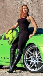 Meet AIRAID Driver Nikki Frost and Her 'Gotta Have It Green' 2013 Mustang GT