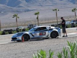 Photo of Jordan Priestley on grid for the Falken Tire Hot Lap Challenge