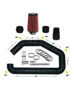 101-301 AIRAID Universal Air Intake Kit