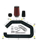 101-401 AIRAID Universal Air Intake Kit