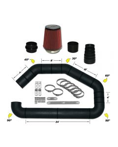 101-352 AIRAID Universal Air Intake Kit