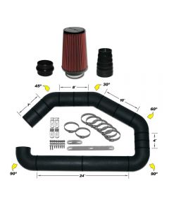 101-401 AIRAID Universal Air Intake Kit
