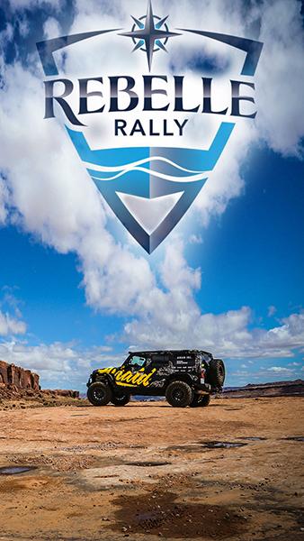 Airaid jeep in the desert