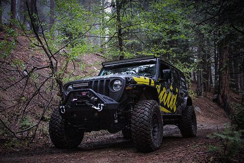 See the Airaid Jeep at Rubicon Trail Jeep Jamboree 2019